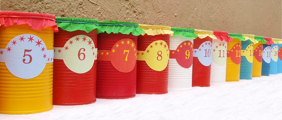 Weihnachtskalender Für Kinder Basteln.Adventskalender Basteln Vorlagen Zum Selber Machen