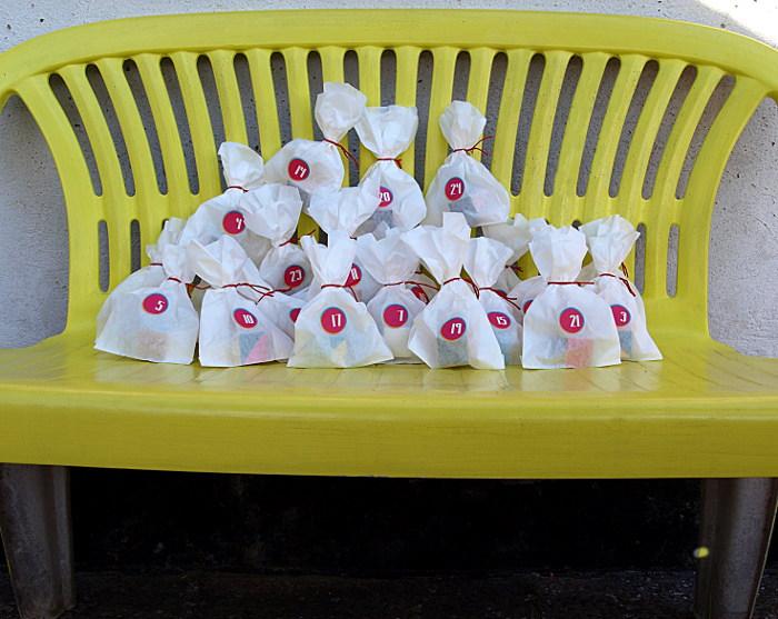 Adventskalender Basteln Aus Butterbrot Tüten